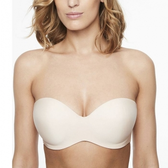 CHANTELLE Absolute Invisible BH Bandeau trägerlos, Haut